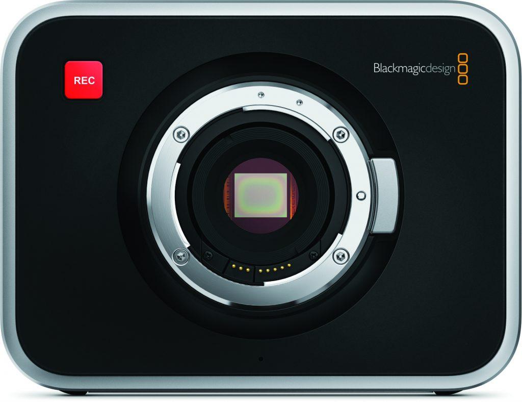 Blackmagic Cinema Camera EF Mount Front
